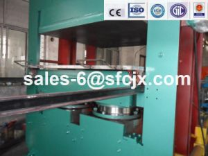 Two Working Layers Rubber Vulcanizing Press, Plate Vulcanizing Press for Making Rubber Sheet pictures & photos