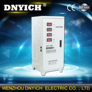 China Supplier SVC 30kVA Threphase Vertical AC Automatic Voltage Stabilizers / Voltage Regulator Price 220V pictures & photos