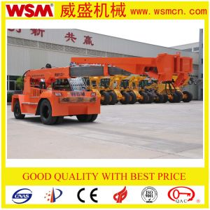 Wsm 12t Telehandler with Cummins Engine Telescopic Boom Forklift Price pictures & photos