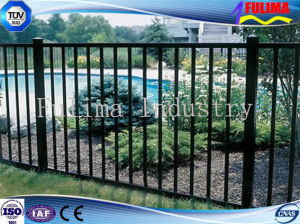 High Security Powder Coated Welded Metal Fencing pictures & photos