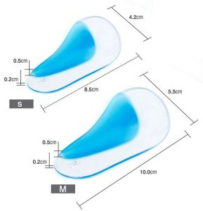 Flat Foot Arch Corrector Support Arch Orthopedic Braces O Leg Correction Soft Silicone Orthotic Insoles for Kids Adults pictures & photos