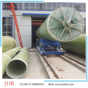 FRP Water Pipes Filament Winding Exhaust Pipes Sewage Pipes pictures & photos