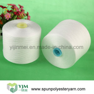 Grade AAA Spun Polyester Yarn / Factory Price (30/3) pictures & photos