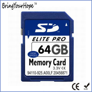 High Capacity 64GB SD Memory Card (64GB SD) pictures & photos