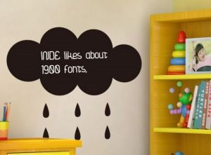 Chalkboard Vinyl & Wall Sticker for Office or Room pictures & photos