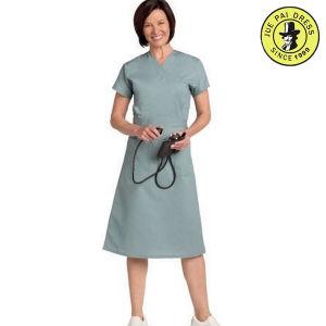 100 Coton Women Hospital Nurses Dress Uniform OEM Service pictures & photos