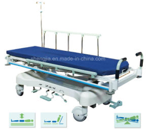 Sjm-009-a Liuxuruious Hydraulic Rise-and-Fall Stretcher Cart