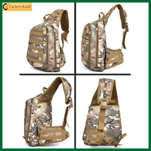 Fashion Outdoor Chest Bag Travel One Shoulder Strap Backpack (TP-BP217) pictures & photos