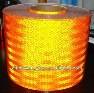 Pet 50cmx45m Colorful High Visibility Self Adhesive Plastic Reflective Sheet pictures & photos