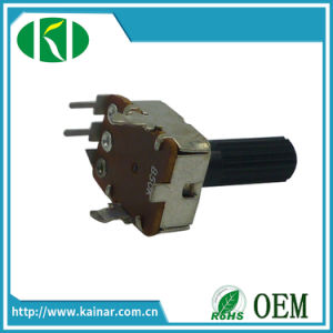 Vertical Type 12mm Rotary Potentiometer with Plastic Shaft Wh123-1 pictures & photos