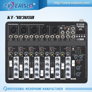 Professional Mixing Console Series Mixer with USB Interface Mixer pictures & photos