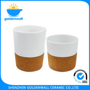 Wholesale Drinking White 400ml Ceramic Coffee Mugs pictures & photos