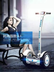 Electric Scooter Dual Wheel Board with Handle pictures & photos