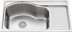 L5610 S. S Pressing Single Bowl Kitchen Sink pictures & photos