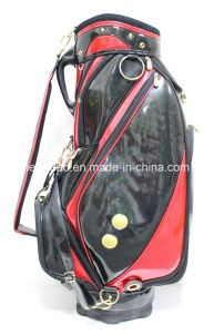 PU Leather Material Golf Caddy Bag pictures & photos