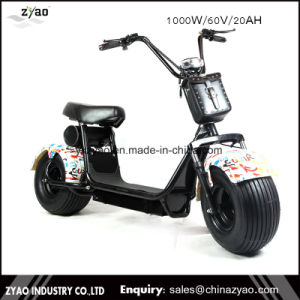 1000/1500W/2000W 60V 20ah Citycoco Cheap 2 Wheel Electric Scooter- (citycoco scooter) pictures & photos