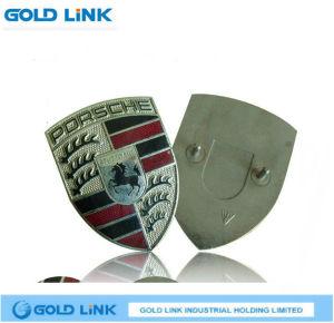 Enamel Metal Lapel Pin Custom Badge Shield Breast Plate pictures & photos