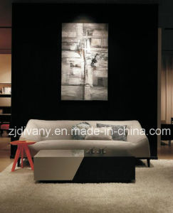 Modern Sofa Furniture White Leather Modern Sofa (D-76-C) pictures & photos