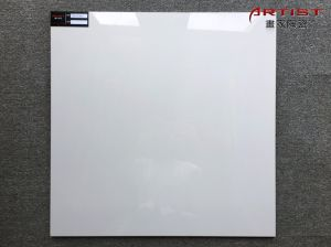 Promotion Glossy White Glazed Porcelain Floor Tile pictures & photos