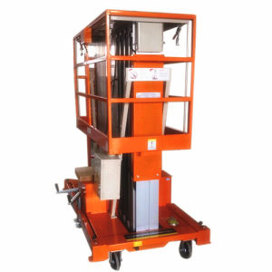 6m Height 300kg Capacity Hydraulic Aerial Work Platform Lift pictures & photos