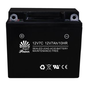 VRLA Motorcycle Battery 12V 7ah with CE UL Certificate Called 12V7C pictures & photos