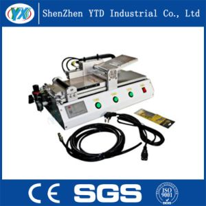 Ytd-101 Semi-Auto Adhesive Film Laminating Machine for Tempered Protector pictures & photos