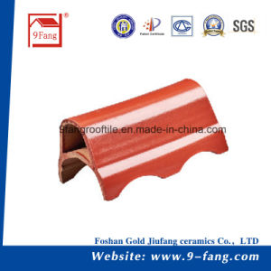 Corrugated Wave Type Clay Roofing Tile Made in China Top Sale pictures & photos