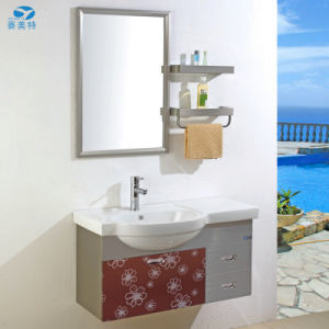 Wholesale Stainless Steel Hotel Bathroom Cabinet Vanity pictures & photos
