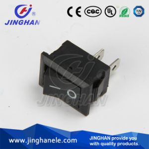 Jinghan Kcd1-116A Spst Rocker Switch/Electric Switch 2 Pins pictures & photos