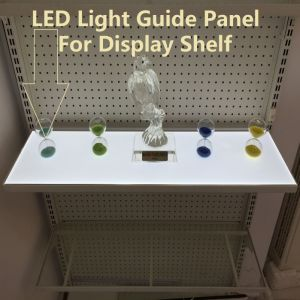 LED Light Guide Panel for Display Shelf pictures & photos