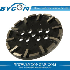 "10"" 10T stone diamond grinding wheel concrete grinding head pictures & photos"