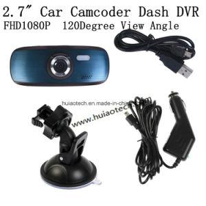 Hot Sale 2.7inch Dash Camera Digital Video Recorder Car DVR with WDR, Night Vision, G-Sensor, Super Capacitor, H. 264, 5.0mega Car Camera DVR-2712c pictures & photos