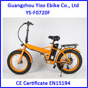 20 Inch Folding Electric Fat Tyre Bike pictures & photos