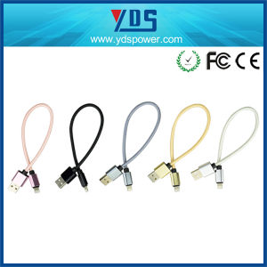Christmas Colorful Micro USB Phone Data Transfer Cable for iPhone pictures & photos