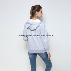 Women Cute Lovers Hoodies with Cuddle Pouch Cat Dog Pet Hoodies for Casual Kangaroo Pullovers with Ears Sweatshirt pictures & photos