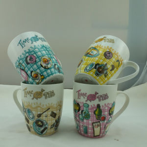Hot Sale Customized Ceramic Coffee Mugs Beautiful Mugs (JSD-ZG-03) pictures & photos
