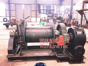 100kn Diesel Winch/Marine Equipment/Explosion-Proof Diesel Winch/Ship Building Equipment