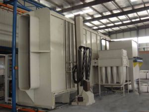 Suspension Powder Spray Coating/Painting Plant for Alumnium Profiles pictures & photos