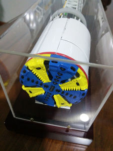 Individually Customizable Double 17 Roller Disc Cutters for Tunnel Boring Machine pictures & photos