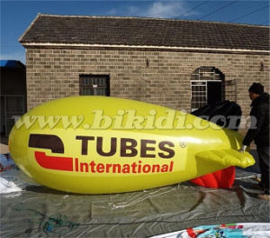 Commercial Grade PVC Helium Blimp, Custom Made Inflatable Airship K7087 pictures & photos