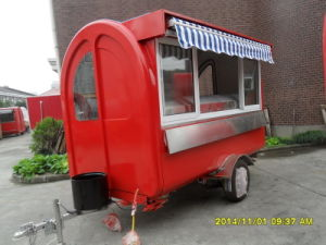 Mobile Catering Trailer for Fast Food pictures & photos