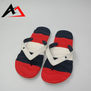Casual Comfortable Sumer Beach Slipper Colorful for Men Shoe (AKCS3) pictures & photos