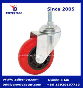 General Duty Durable PU on PP All Swivel Castor Wheel pictures & photos