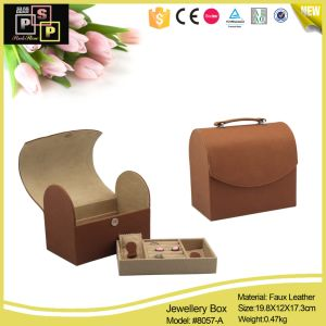 Fashion Luxury Leather Jewelry Box (8057) pictures & photos
