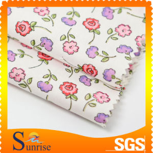 Woven Cotton and Polyester Printing Fabric for Clothing (SRSTC 049)
