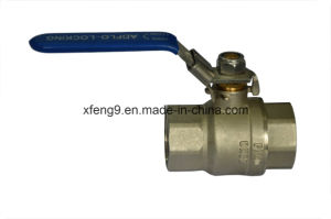 Us Brass Ball Valve with Steel Handle pictures & photos