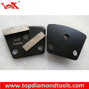 2 Segments Concrete Trapezoid Grinding Segment pictures & photos