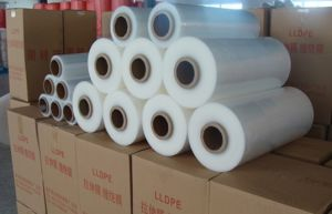 Transparent 17 Micron LLDPE Stretch Film pictures & photos