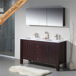 Fed-1168 New Disign Solid Wood Bathroom furniture with Mirror Cabinets pictures & photos