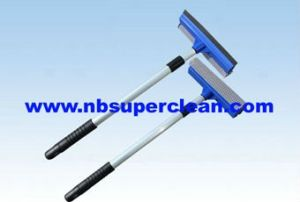 Telescopic Window Squeegee Car Wash Mop (CN1716) pictures & photos